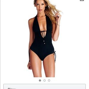 Vitamin A black one piece